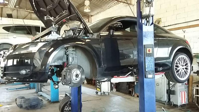 Audi tt 3 2 quattro d un client de marseille n mes y autos for Garage vidange marseille